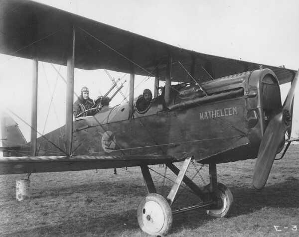 De Havilland Dh 4 Holcomb S Aerodrome