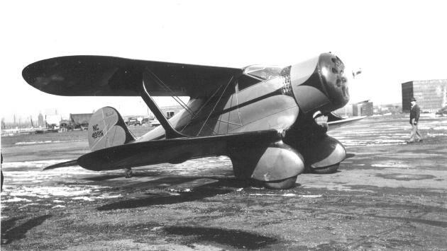 Beechcraft Staggerwing - Holcomb's Aerodrome